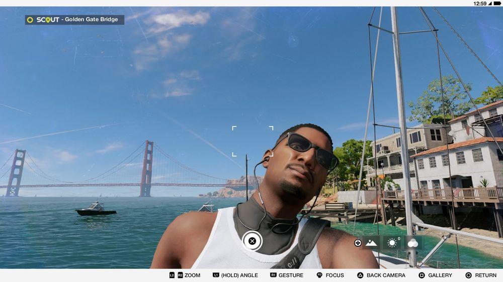 Marcus lever det gode hackerliv i San Fransisco. Og ja, du kan selvfølgelig ta selfier i spillet.