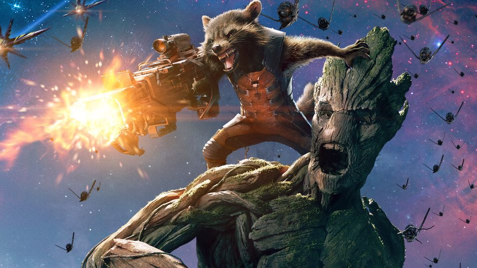 Konseptbilde fra Guardians of the Galaxy.