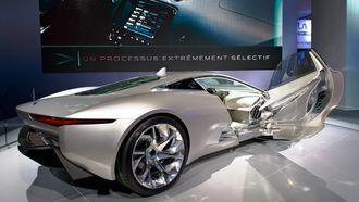Jaguar C-X75 Concept.