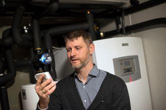 Korsvoll har både varmepumpe og solcelleanlegg for energiproduksjon.