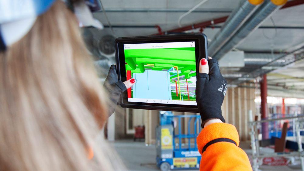 Harald V. Nikolaisen, administrerende direktør i Statsbygg mener det er både tid og penger å spare på å benytte seg av digitale løsninger som BIM, vist på dette bilde, i byggebransjen i tiden fremover. Illustrasjonsfoto.