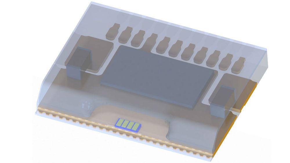 Osrams firekanals lasermodul produserer helt parallelle laserstråler med svært kort puls, og danner grunnlaget for en MEMS-basert lidar-skanner.
