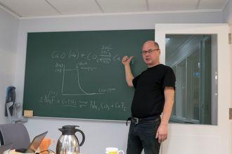 Oppfinneren: Espen Olsen fant opp prosessen på grunn av et mislykket forsøk.