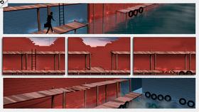 I Framed 2 må du sortere tegneserieruter for å fortelle spillets historie.