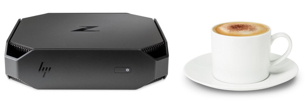 HP Z2 Mini Workstation.
