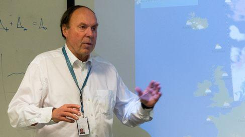 Direktør ved Meteorologisk institutt, Anton Eliassen.