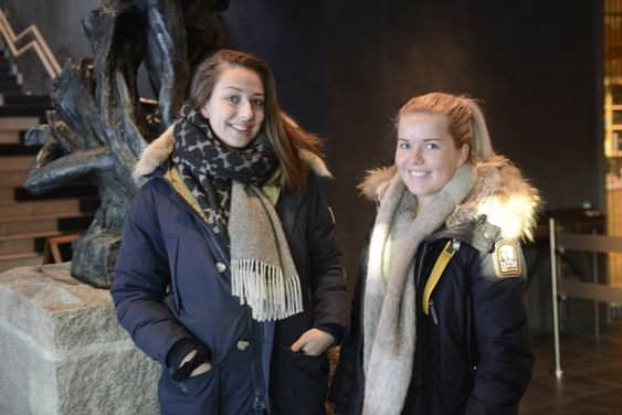 VANNBEFALT: De to studentene, Kristine Åsheim og Martine Jørgensen, har fått anbefalt The Well av kjente.