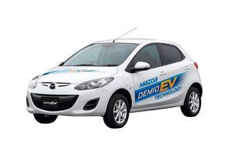 Mazda Demio er kjent som Mazda 2 i Europa. Et lite antall elbilutgaver er produsert i Japan.