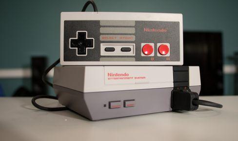 Nintendo Classic Mini.