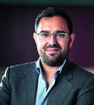 Azeem Azhar, VP Venture & Foresight i Schibsted Media Group.