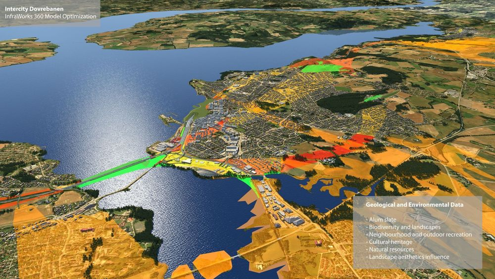 Ved å jobbe tverrfaglig i samme BIM-modell (bygningsinformasjonsmodell) håper prosjektgruppen det er mulig å så mye som halvere planleggingstiden i store norske samferdselsprosjekter.
