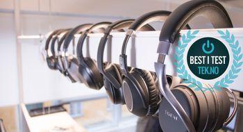 Trådløse hodetelefoner med aktiv støydemping
