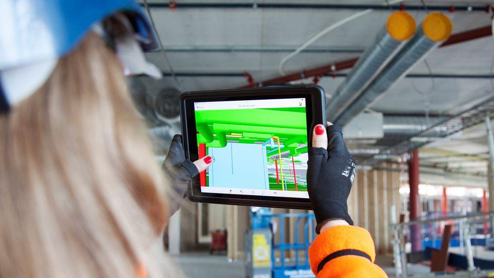 Digitalisering er det aller viktigste verktøyet for å oppnå bedre effektivitet i byggebransjen, ifølge bransjen selv.