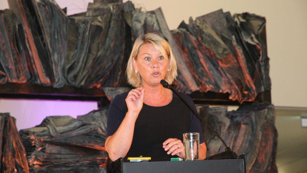 Næringsminister Monica Mæland vil åpne Smart Produksjon Norge 2016 i teknologibyen Kongsberg.