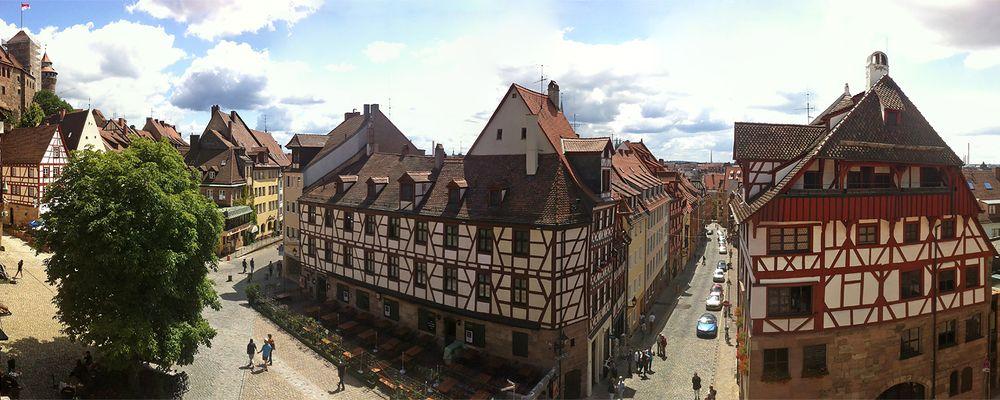 Nürnberg har også en koselig og typisk tysk Altstadt som fortjener et besøk.