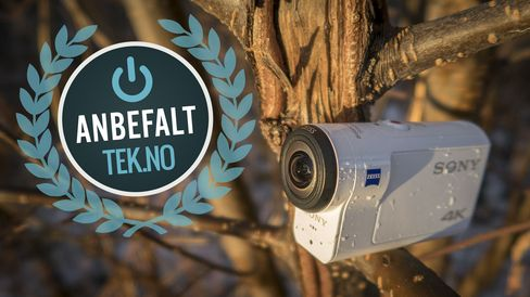 Ja, vi anbefaler X3000R, men ikke uten at du setter deg inn i ulempene med kameraet.