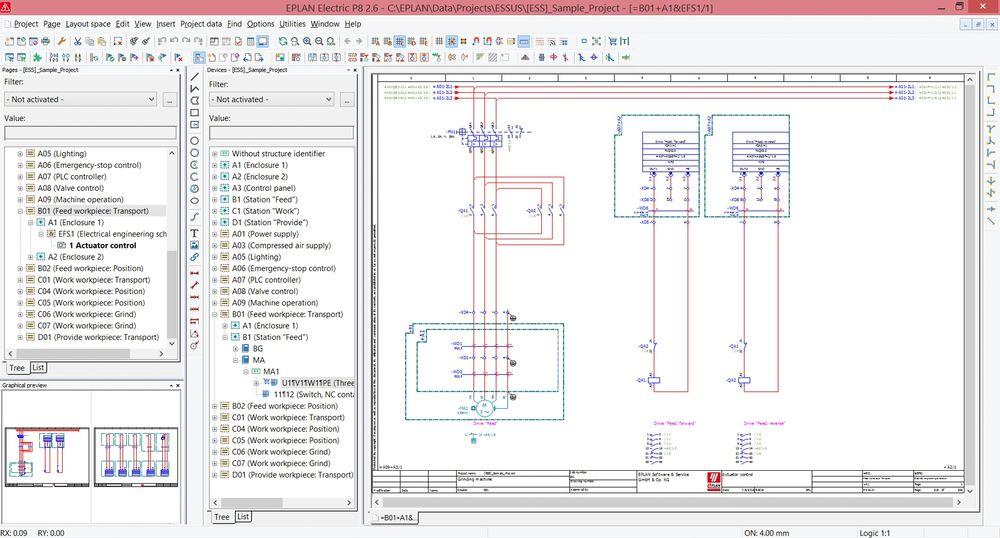 Funksjonsorientert design med Eplan skal være en kilde for økt effektivitet med Eplan-plattformen.