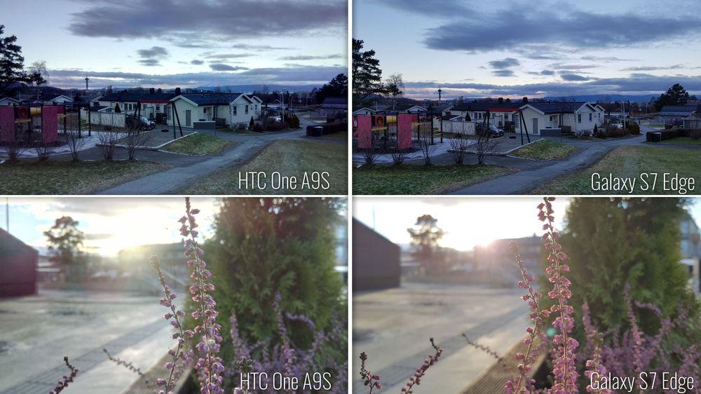 Galaxy S7 Edge tar langt bedre bilder med HDR enn One A9S, og enda viktigere: stort sett alle bildene blir bra. Det kan ikke sies om bildene HTC-en spytter ut.