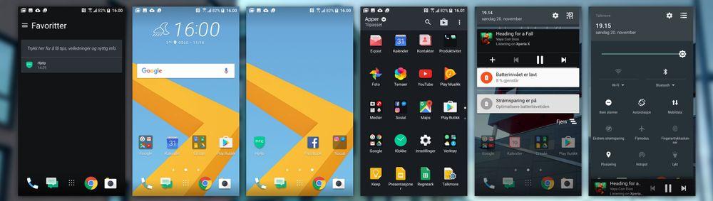 HTC har nærmet seg standard Android de siste årene.