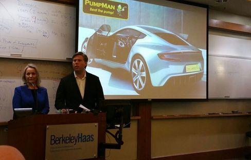 Tingvoll ledet teamet til toppkarakter under innovasjonsproduktet på Berkeley.