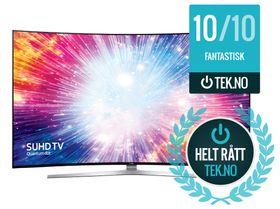 Samsung UE65KS9505 får du til 20 000 kroner under vanlig pris i dag.