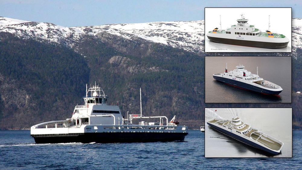 Slik jobber de for å sikre at 60 nye ferger blir bygget i Norge