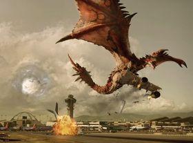 Konseptkunst frå Monster Hunter-filmen.
