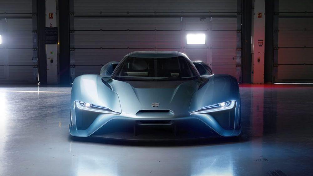 NextEV NIO EP9 er en elektrisk superbil.