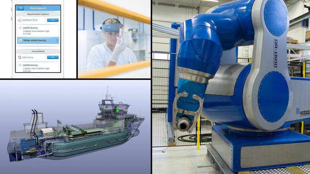 Oljejobbene komme ikke tilbake. Det kan føre til at Norge får et overskudd på 57.000 ingeniører og realister i 2035, med mindre de finner jobber i nye næringer. Velfersteknologi, marin teknologi, livsvitenskap og automatisering er aktuelle områder med behov for teknologisk kompetanse.