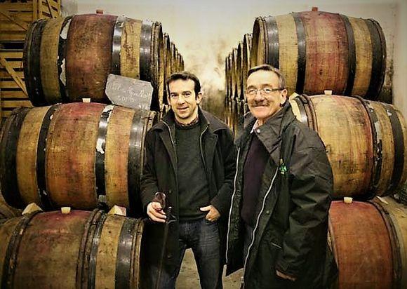 Far og sønn Baudry.
