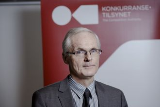 Konkurransedirektør Lars Sørgard.