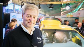 Knut Brandrud selger mye Opel i Trondheim.