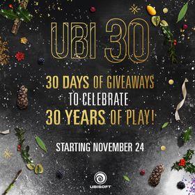 Ubisoft begynner julefeiringen litt tidlig i år.