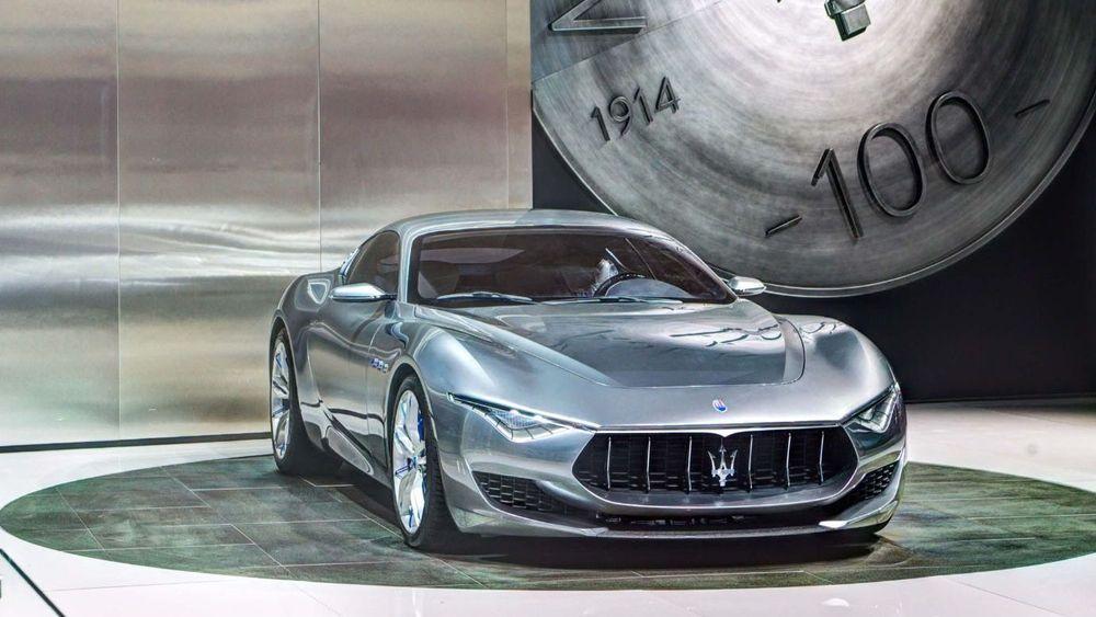 Maserati planlegger en elektrisk utgave av konseptbilen Alfieri.