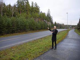 KLAR FOR Å BYGGE: Kim Andre Moe, prosjektleder i JM Norge AS, er klar for å sette i gang med prosjektet.