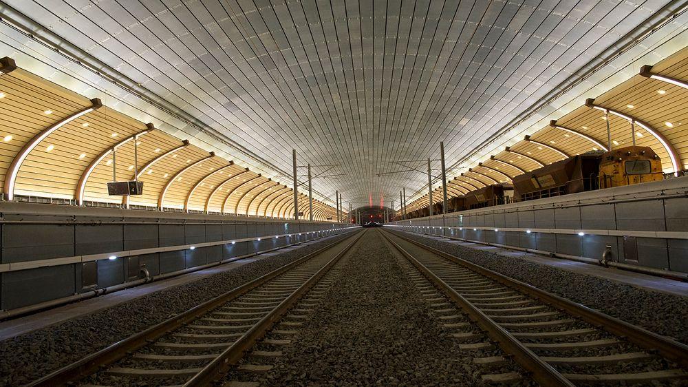 Etter syv års arbeid er det endelig klart for åpningen av det nye dobbeltsporet på Vestfoldbanen, samt den splitter nye stasjonshallen på Holmestrand.