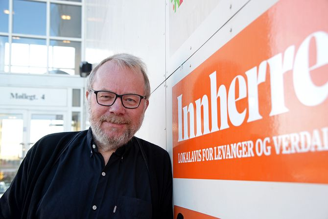 Redaktør Roger Rein i Innherred. (Foto: Erik Waatland)