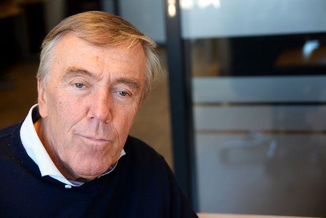 Journalist Martin Haugen (66) i Stjørdalens Blad. (Foto: Erik Waatland)