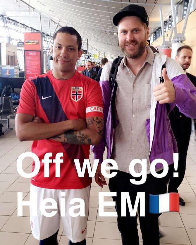 Fra Heia Fotball sin Snapchat-konto. (Foto: NRK)