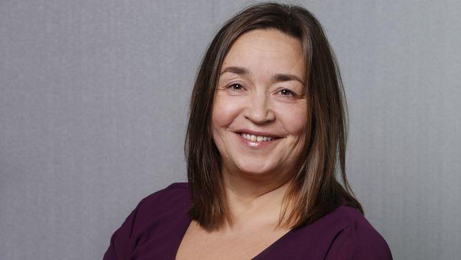 Regionredaktør Heidi Pleym i sør. Hun har ansvaret for NRKs distriktskontor i Vestfold, Agder og Telemark. (Foto: Ole Kaland / NRK)