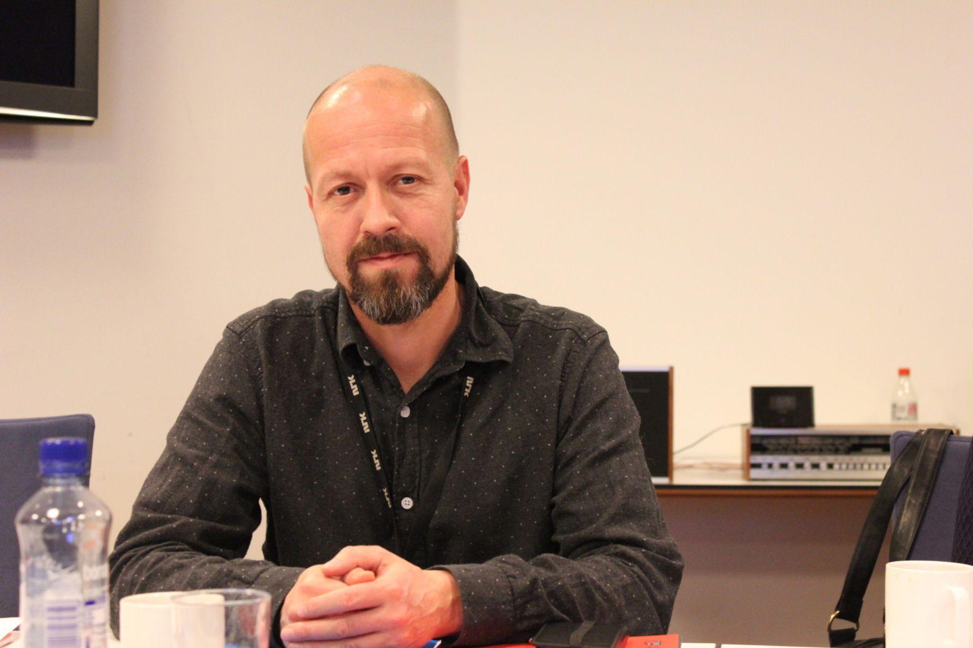 EtikkredaktørPer Arne Kalbakk i NRK.