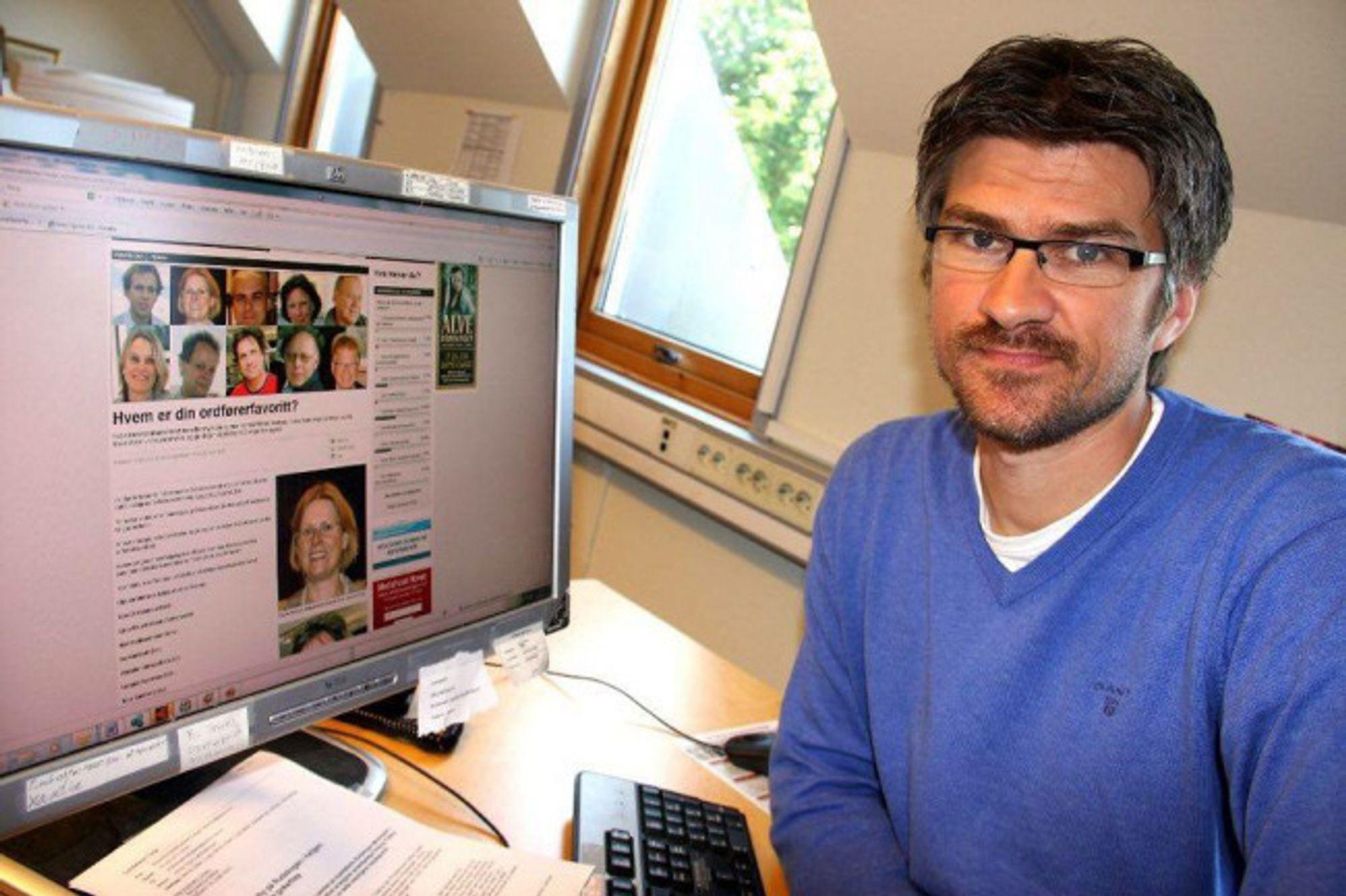 Redaktør og gründer Morten Øby i Sarpsborg24.