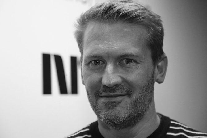 Teknologisjef Steinar Bjørlykke (43) i NRK Midt. (Foto: Lars Erik Skjærseth, NRK)