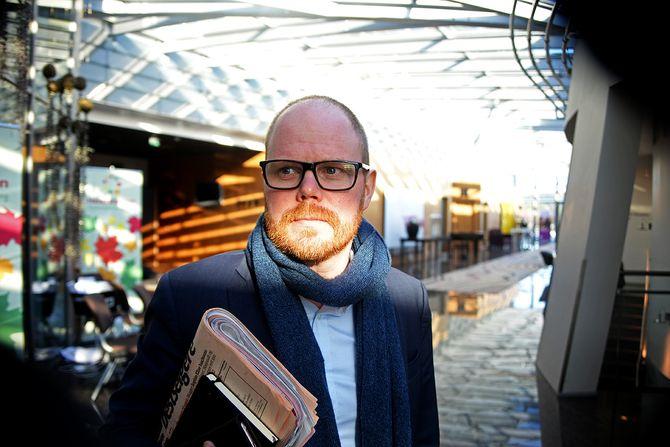 Nyhetsredaktør Gard Steiro (40) i VG.