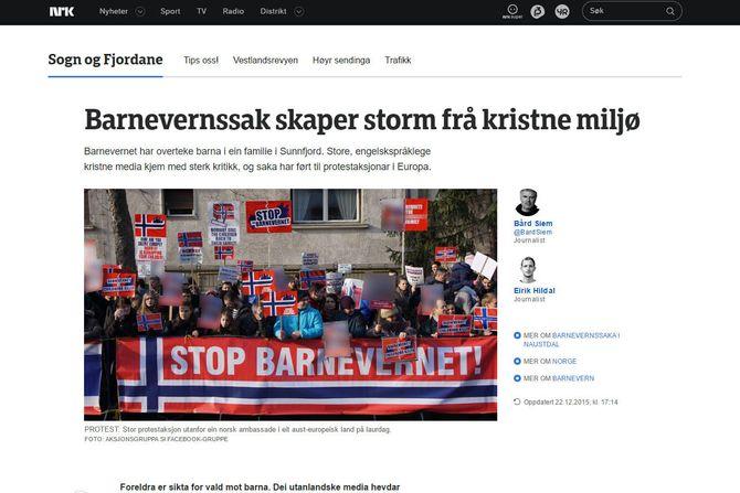 Skjermdump fra NRK (faksimile)
