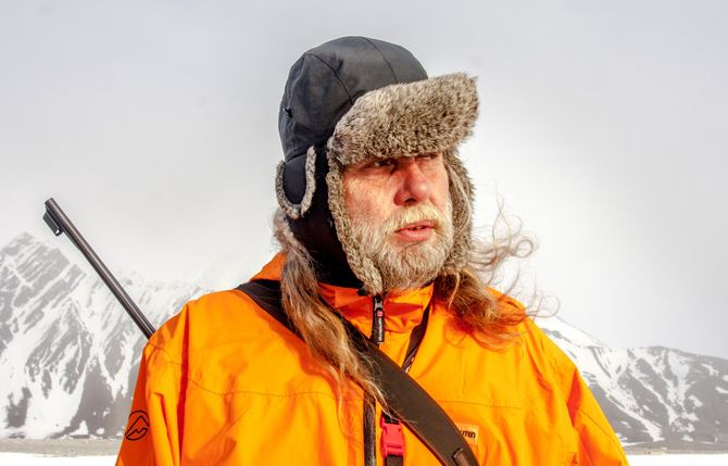 ARNE O. HOLM - her i fri dressur i fri natur. (Arkivfoto / foto: Jan-Morten Bjørnbakk, NTB scanpix)