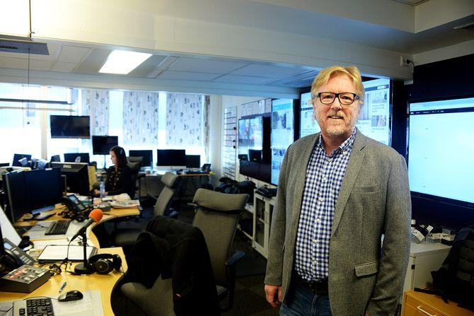 Regionredaktør Kai Aage Pedersen i NRK Vest (Foto: Erik Waatland)