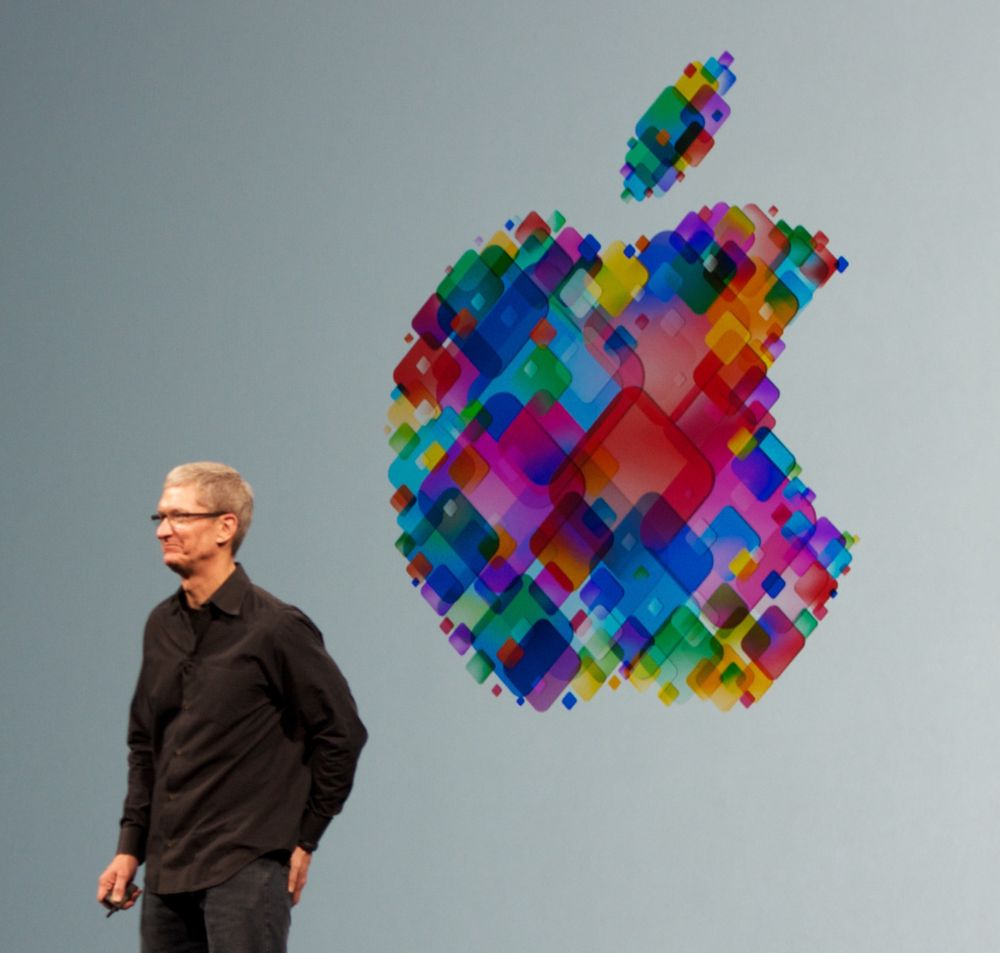 Administrerende direktør Tim Cook i Apple.