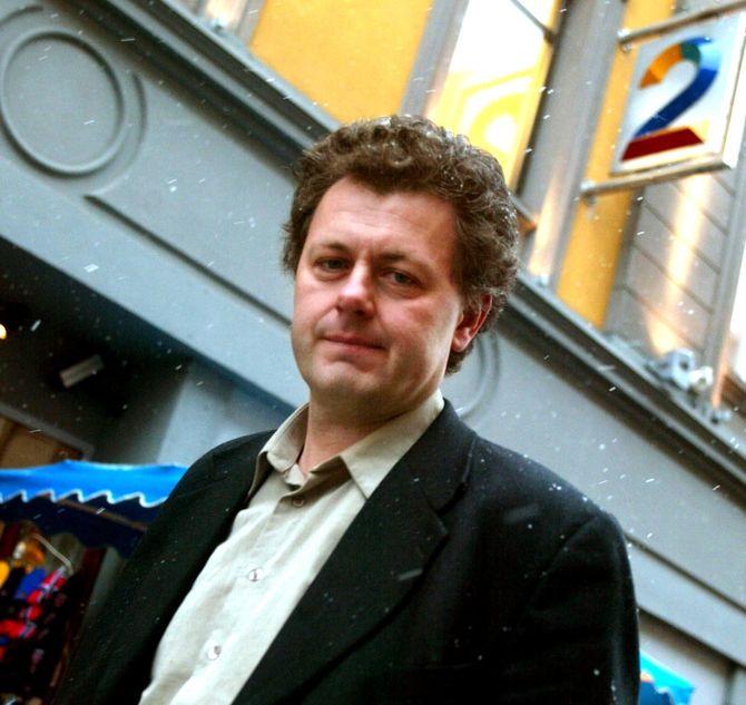 Gunnar Stavrum som TV 2-ansatt i 2003. (Foto: Bjørn Sigurdson, Scanpix)