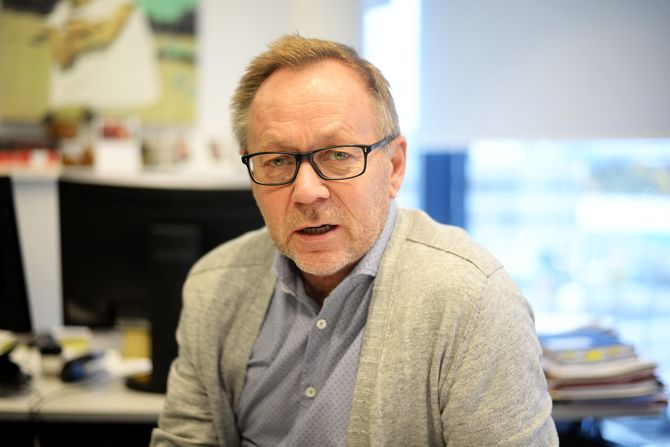Sjefredaktør John Arne Markussen i Dagbladet. (Foto: Erik Waatland)